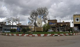A unknown square in Heris.JPG