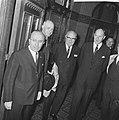 Aankomst Belgische premier Harmel en Minister Spaak bij Hollands Spoor te Den Ha, Bestanddeelnr 918-1891.jpg
