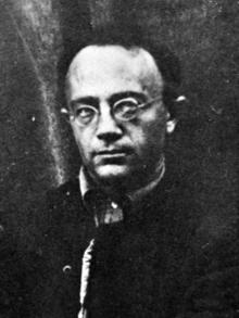 Aron Baron en 1920.