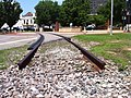 Abandoned Track in Augusta, Georgia June 2013 at The Augusta Museum of History. - panoramio.jpg