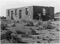 Abandoned stone building - NARA - 295166.tif