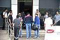 Abhishek Bachchan and Bunty Walia depart for All Stars Football match in Delhi.jpg