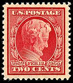 Abraham Lincoln3 1909 Issue-2c.jpg