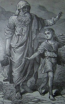 Abraham going up to offer Isaac as a sacrifice.jpg