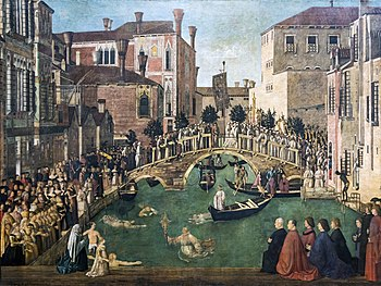 Miracle of the Cross, Bellini