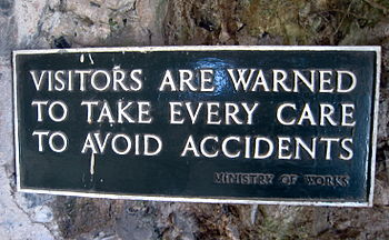 Accident warning