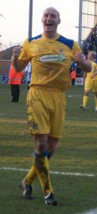 Adam Barrett - Barrett playing for Southend United, 2009