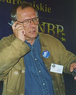 Adam Michnik by Kubik 052003.jpg