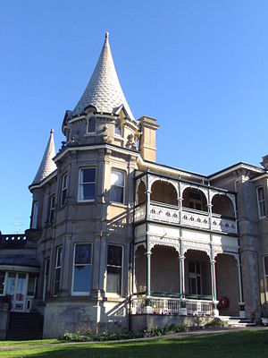 Victor Harbor, South Australia - Adare House, built in 1893. The building is now owned by the Uniting Church Australia.