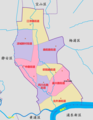 Administrative Divisions of Hongkou, Shanghai, China.png