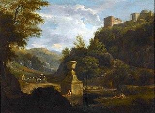 Le Chemin de Riccio près d'Albano