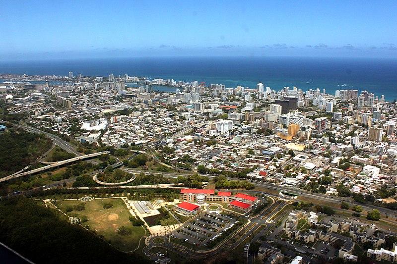 File:Aerial view of Condado, Santurce, San Juan, Puerto Rico.jpg -  Wikimedia Commons