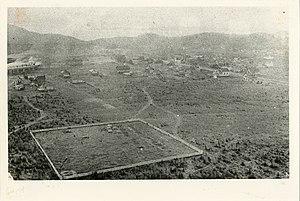 Schreiber, Ontario - Aerial view of Schreiber from the 1890s