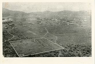 Schreiber, Ontario - Aerial view of Schreiber from the 1890s