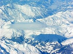 Aerial view overhead Zwischenbergen 18.02.2009 12-57-42
