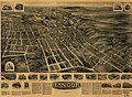 Aero view of Bangor, Pennsylvania 1918 LOC gm71005366.jpg