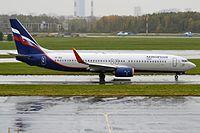 VP-BCG - B738 - Aeroflot