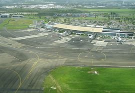 Aimé-Césaire International Airport in Le Lamentin