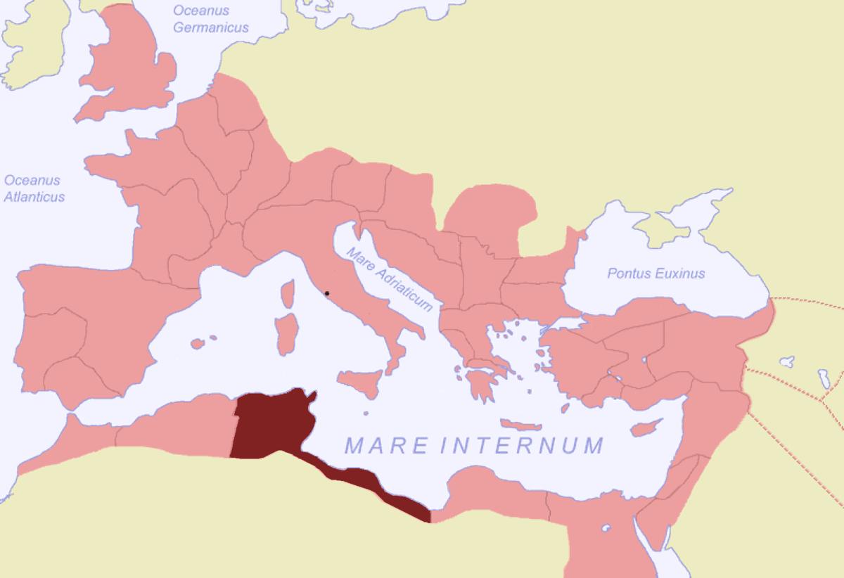 Cartina Italia E Africa.Africa Provincia Romana Wikipedia