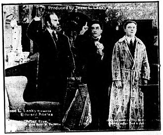 After Five - Publicity photo published in a contemporary newspaper.