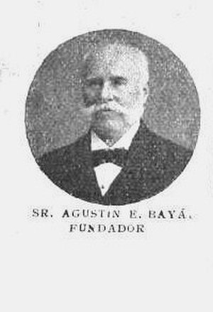 Juan Manuel Bayá - Agustín Bayá Mosqueira, husband of Elia Canaveris