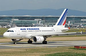 Air France'a ait bir A318