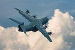 Airbus A-400M Atlas Farnborough Airshow 2014 - 24066355777.jpg