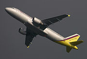 Germanwings A320-211 beteckning D-AIPX.