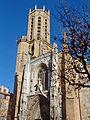 Aix-en-Provence - Façade et clocher de la cathédrale Saint-Sauveur.JPG