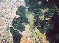 Akasobu-Tameike water reservoir Aerial photograph.1975.jpg