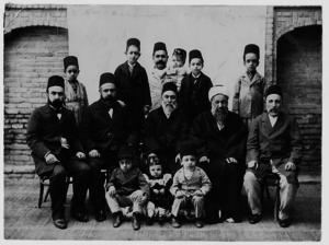 Baghdad Vilayet - Governor Al-shakir Effendi's Family in Baghdad, 1901