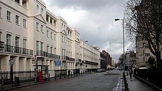 Albany Street Street in the London Borough of Camden