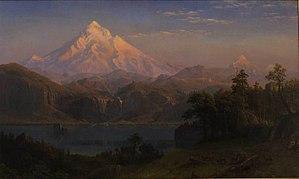 Mount Hood (painting) - Image: Albert Bierstadt Mount Hood