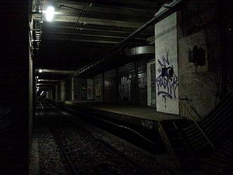 Alberti Norte (Buenos Aires Underground) - Image: Alberti Norte 1