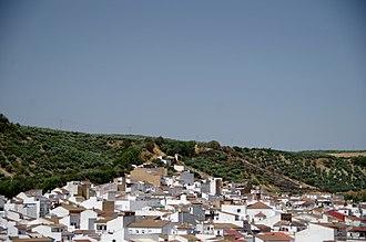 Alcalá del Valle - The magnifique view over the village