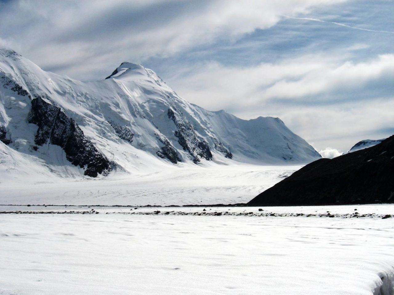 Daerah paling membekukan di Eurasia barat (Aletsch Glacier)