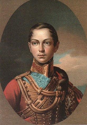 Tsesarevich - Image: Alexander II young