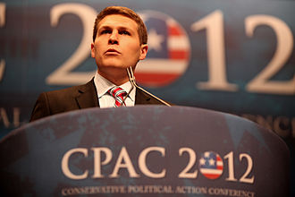 Students for Liberty - McCobin speaking at CPAC in Washington, DC