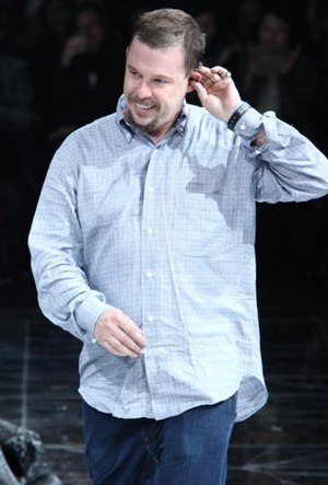 "Homogenic - The album cover for Homogenic was produced by close friend Alexander McQueen (pictured), who also directed the music video for ""Alarm Call""."