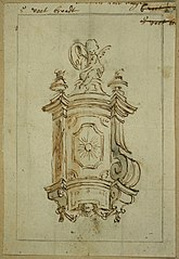Design for a wall epitaph