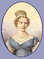 Alexandra Feodorovna of Russia by J.H.Benner (1821, Hermitage).jpg