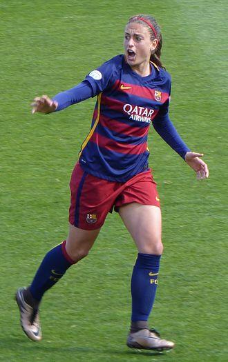Alexia Putellas - Image: Alexia Putellas (FCB Athletic Club 2016)