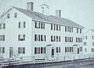 Alfred Shaker Historic District - Image: Alfred Shaker Village, c 1880