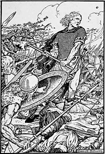 Alfred the Great, Battle of Ashdown.jpg