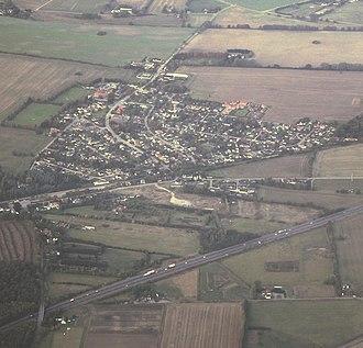 Algestrup - Aerial photograph of Algestrup (2012)