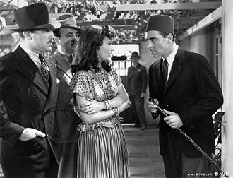 Algiers (film) - Joseph Calleia (right) in Algiers