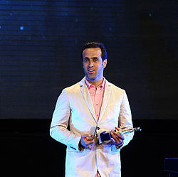 Ali Karimi in Iran Premier League Annual Awards Ceremony, 2015.jpg