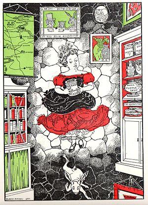 Illustrators of Alice's Adventures in Wonderland - Alice by Blanche McManus