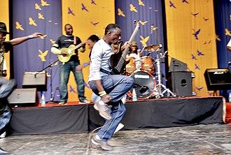 Music of Zimbabwe - Alick Macheso performing in 2012