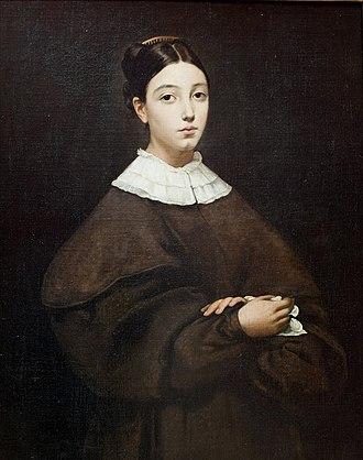 Aline Chassériau - Image: Aline Chasseriau portrait
